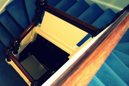 Escada da Acomodação - Intercâmbio em Londres