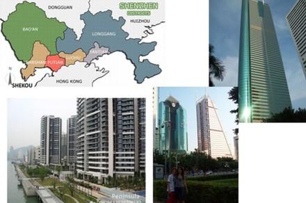Shenzhen, Shekou e Península